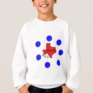 Dallas, Texas City Design (Big D) Sweatshirt