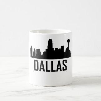 Dallas Texas City Skyline Coffee Mug