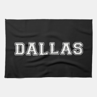 Dallas Texas Kitchen Towel