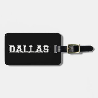 Dallas Texas Luggage Tag