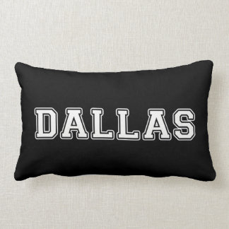 Dallas Texas Lumbar Pillow