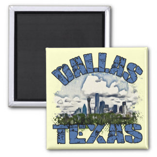 Dallas, Texas Magnet