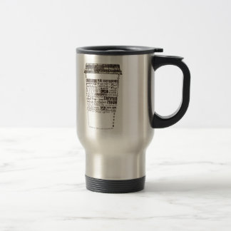 Dallas Texas & N Dallas Coffee Shop Travel Mug
