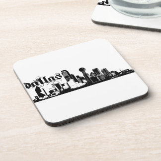 Dallas Texas Put on for your city Beverage Coasters