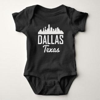 Dallas Texas Skyline Baby Bodysuit