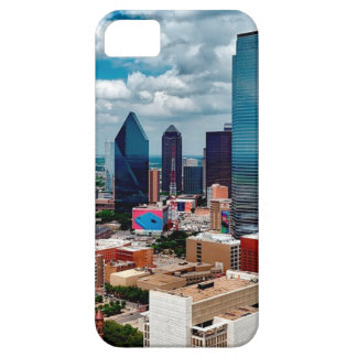 Dallas Texas Skyline Case For The iPhone 5