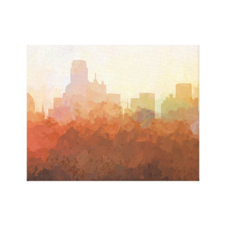 DALLAS, TEXAS SKYLINE - In the Clouds Canvas