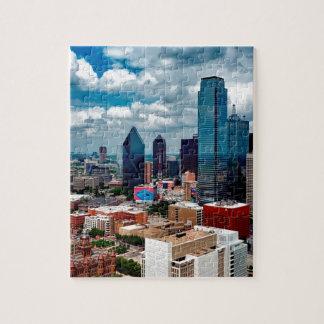 Dallas Texas Skyline Jigsaw Puzzle