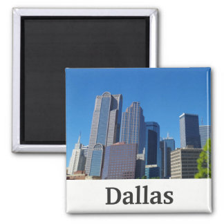 Dallas, Texas Skyline magnet