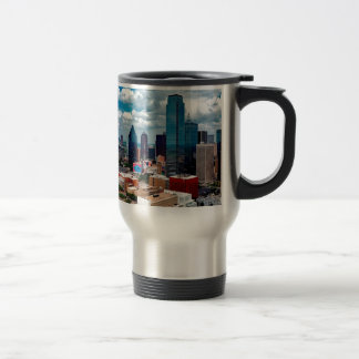 Dallas Texas Skyline Travel Mug
