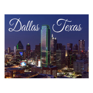 Dallas, Texas Skyline, United States Postcard