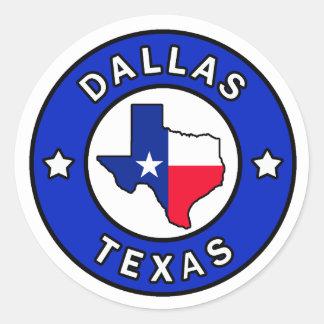 Dallas Texas Sticker