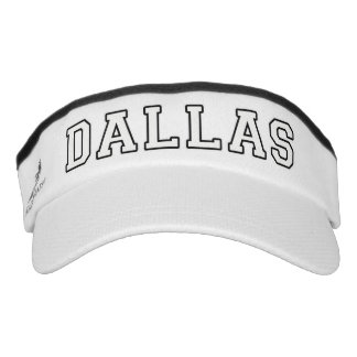 Dallas Texas Visor