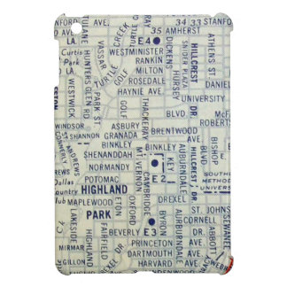 Dallas Vintage Map iPad Mini Case
