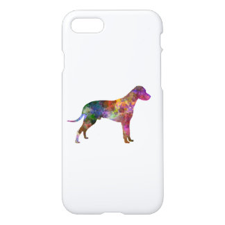 Dalmatian 01 in watercolor 2 iPhone 8/7 case