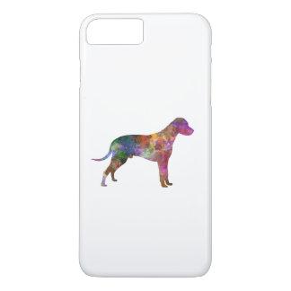 Dalmatian 01 in watercolor 2 iPhone 8 plus/7 plus case