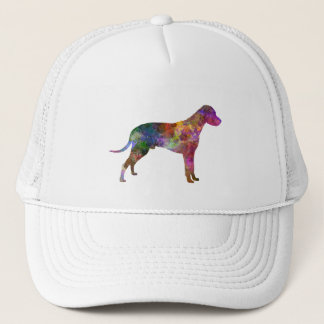 Dalmatian 01 in watercolor 2 trucker hat