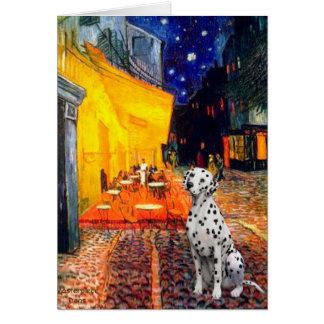 Dalmatian 1 - Terrace Cafe Card