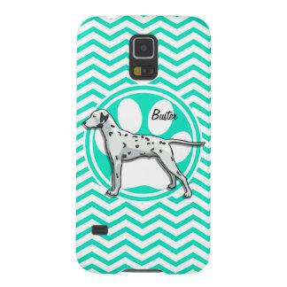 Dalmatian Aqua Green Chevron Galaxy S5 Covers