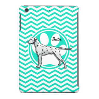 Dalmatian Aqua Green Chevron iPad Mini Case