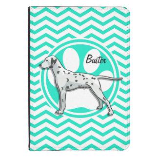 Dalmatian Aqua Green Chevron Kindle 4 Case