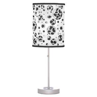 Dalmatian Black and White Print Table Lamp