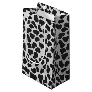 Dalmatian Black and White Print Small Gift Bag