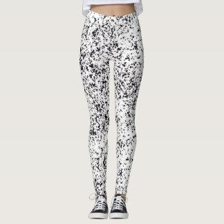 Dalmatian Black Spotted Leggings