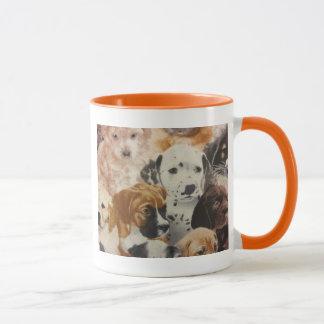 Dalmatian & Boxer Pups Mug