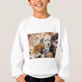 Dalmatian & Boxer Pups Sweatshirt