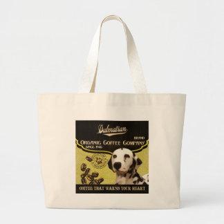 Dalmatian Brand – Organic Coffee Company Canvas Bags
