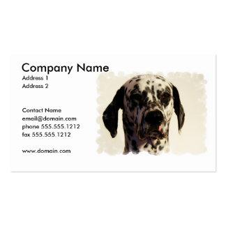 Dalmatian Business Card