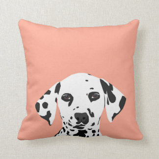 Dalmatian - Cute dog illustration for dog lover Throw Pillow