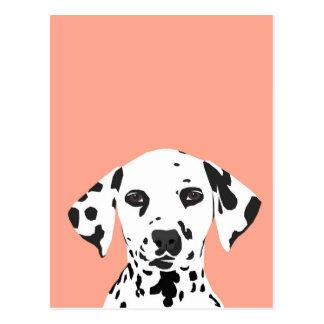 Dalmatian - Cute Dog Illustration for Dog Lover Postcard