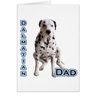 Dalmatian Dad 4 Card