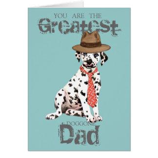 Dalmatian Dad Card