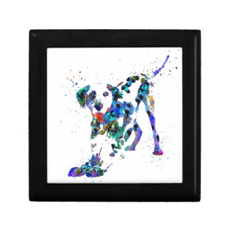 Dalmatian, Dalmatian dog, watercolor Dalmatian Gift Box