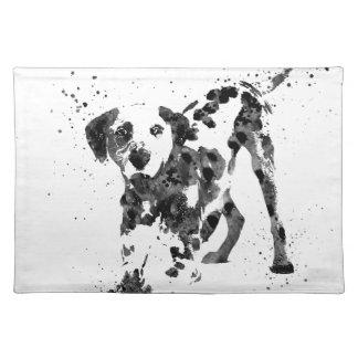 Dalmatian, Dalmatian dog, watercolor Dalmatian Placemat