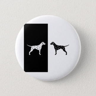 Dalmatian dog 2 inch round button