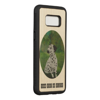 Dalmatian Dog Art Carved Samsung Galaxy S8 Case