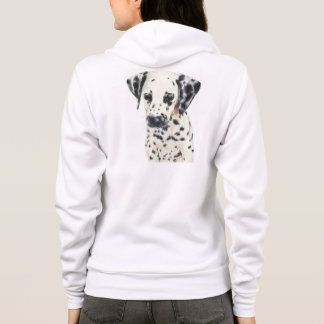 Dalmatian Dog Art Hoodie