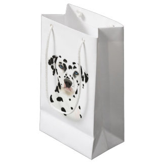 Dalmatian Dog art Small Gift Bag