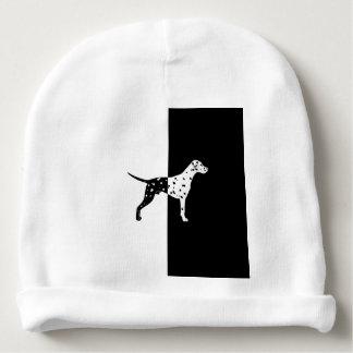 Dalmatian dog baby beanie