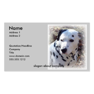 Dalmatian Dog Business Card