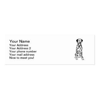 Dalmatian Dog Business Card Templates