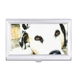 Dalmatian Dog Business Card Case