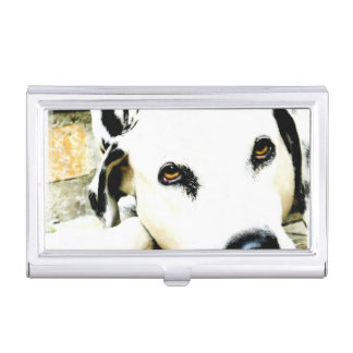 Dalmatian Dog Business Card Holder