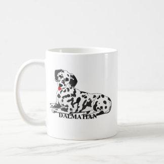 Dalmatian Dog Cartoon Mug