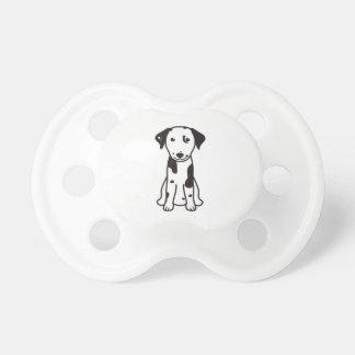 Dalmatian Dog Cartoon Pacifier