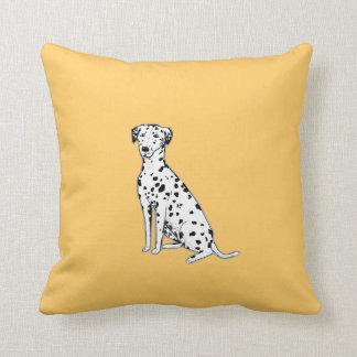 Dalmatian Dog customizable pillows or cushions